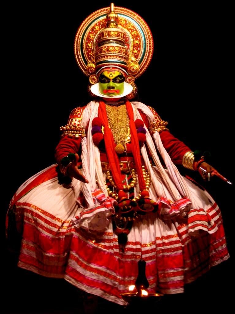 Kathakalidancer