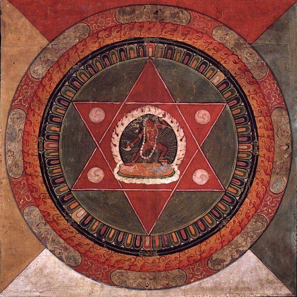 Tibetan mandala Naropa