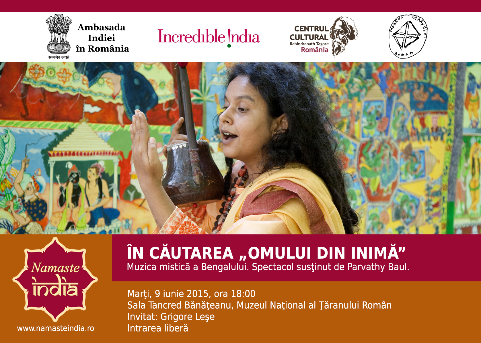 Namaste India - MTR - 9 iunie