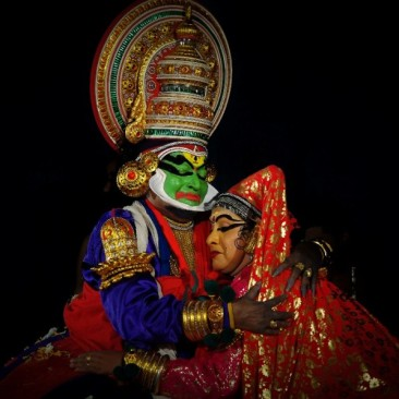Dansul Kathakali