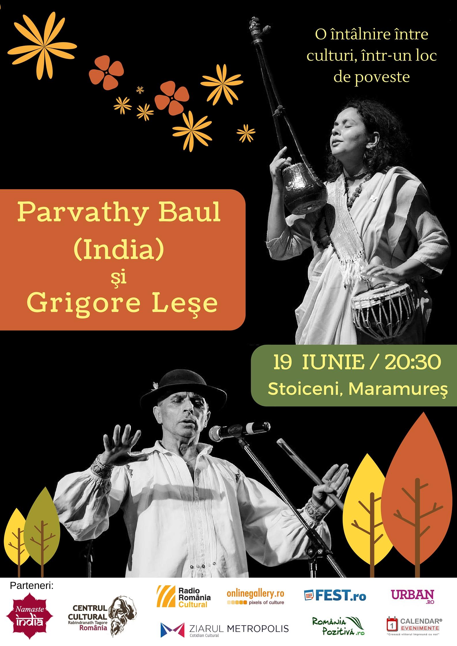 Concert Parvathy Baul & Grigore Lese