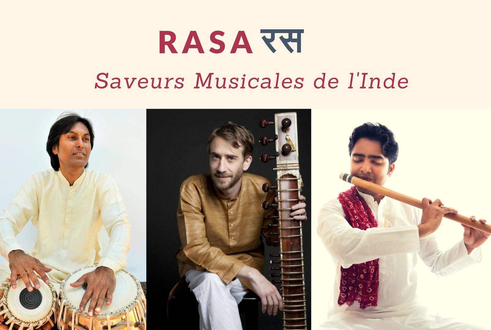 Concert de muzică clasică RASA - Saveurs musicales de l'Inde
