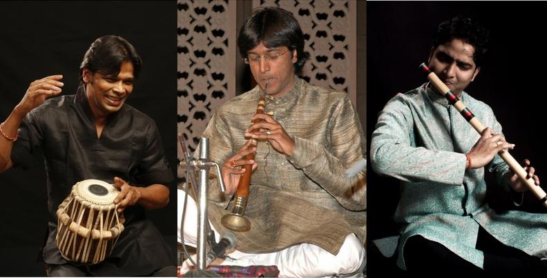 Concert cu instrumente de suflat din India și România