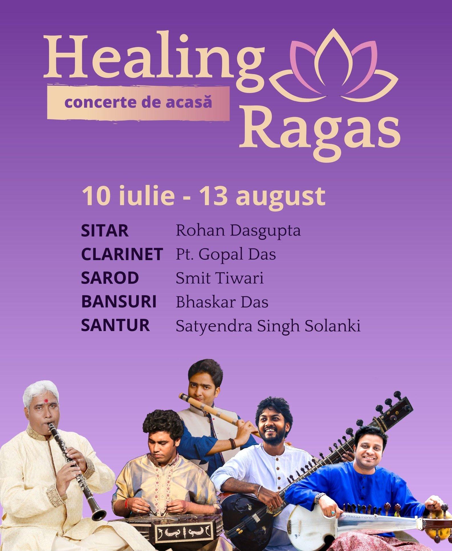 HEALING RAGAS - concerte online de muzica clasica indiana