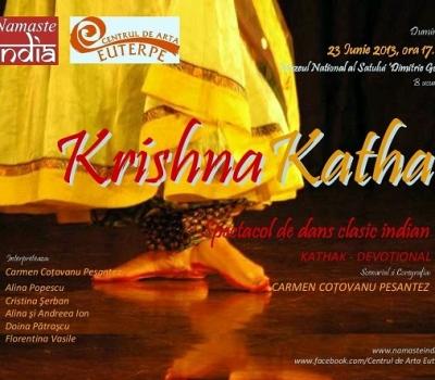 """Spectacolul """"Krishna Katha""""/""""Povestea Zeului Krishna"""""""