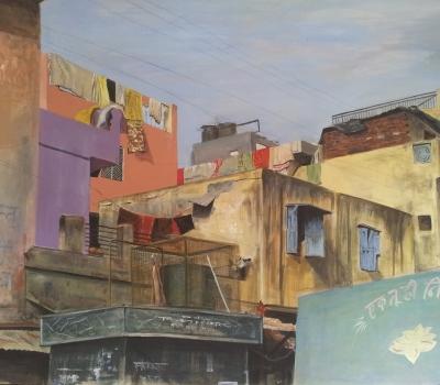 """Expoziția de pictură """"Chalo"""""""
