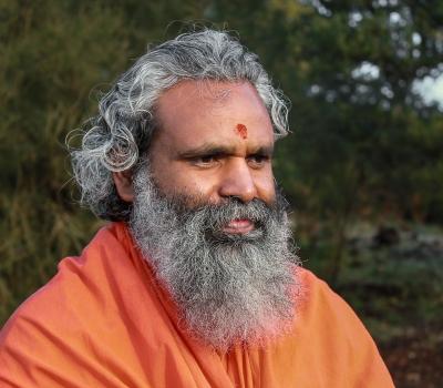 Swami Ananda Saraswati în România