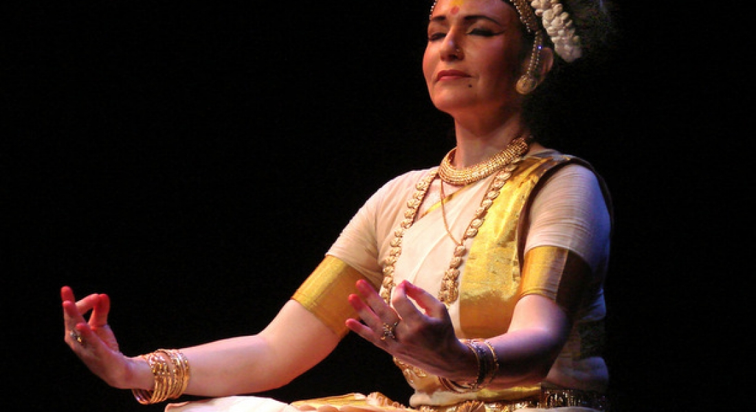 Dans clasic Mohiniyattam cu Brigitte Chataignier