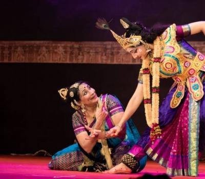 Spectacol de muzică clasică și dans clasic Kuchipudi