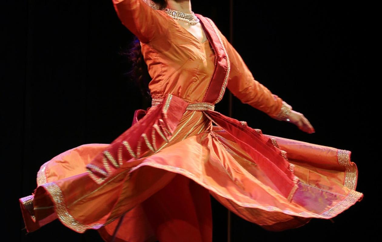 Spectacol de muzică clasică și dans clasic kathak