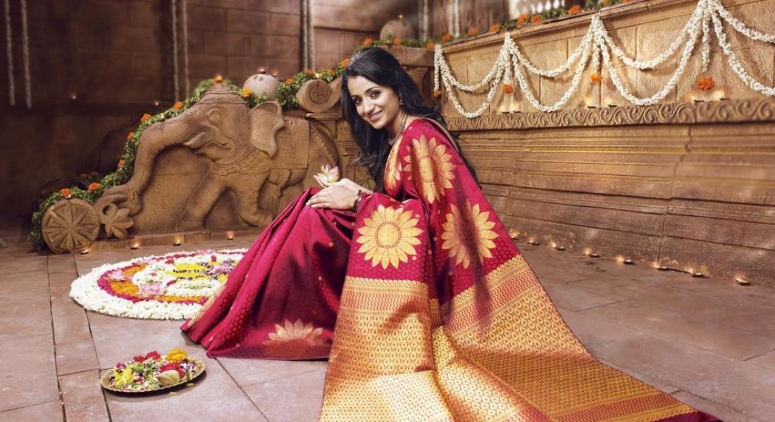 """Șase metri de grație: sari-ul indian lucrat manual"" (film documentar)"