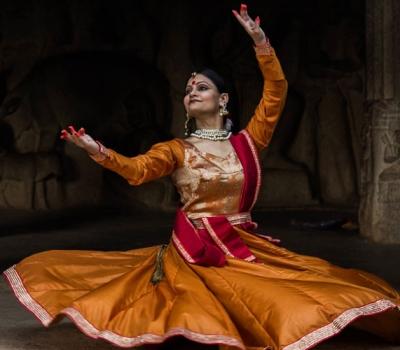 Spectacol de dans Kathak (Namrta Rai)